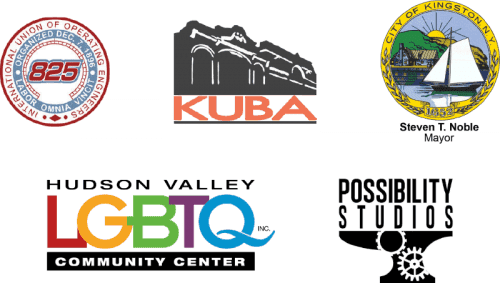 The City of Kingston, the International Union of Operating Engineers Local 825, Hudson Valley LGBTQ Community Center, and the Kingston Uptown Business Association